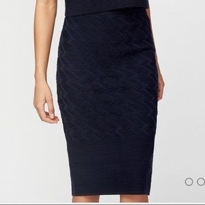 Rachel Roy | Feather Stitched Sweater Skirt
